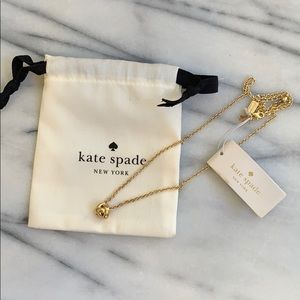 Kate Spade Love Knot necklace